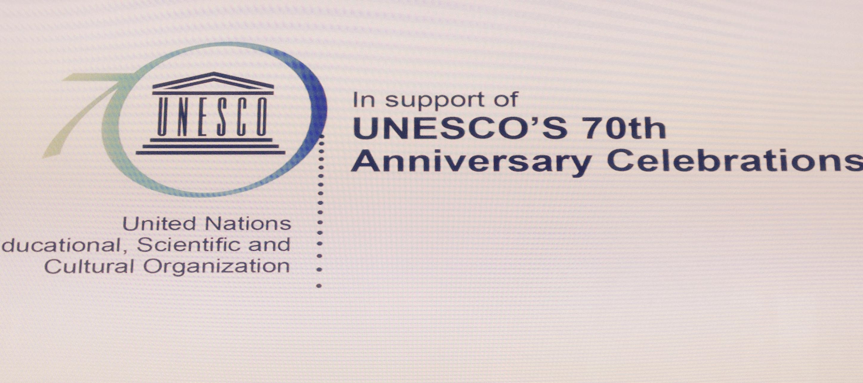 Chair presents ideas at UNESCO Forum Slovenia